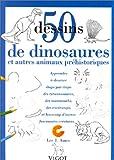 echange, troc Lee J Ames - 50 dessins de dinosaures et autres animaux préhistoriques