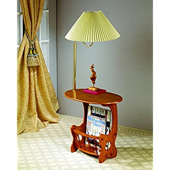 Coaster Magazine Table-Oak
