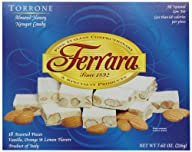 Ferrara Torrone, Almond Honey Nougat…