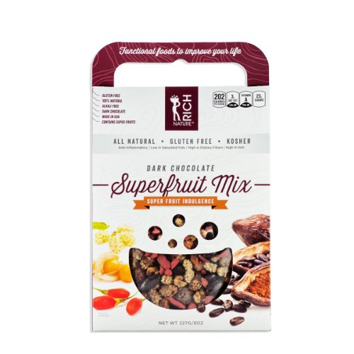 Dark Chocolate Powermix Snack (8 Oz)