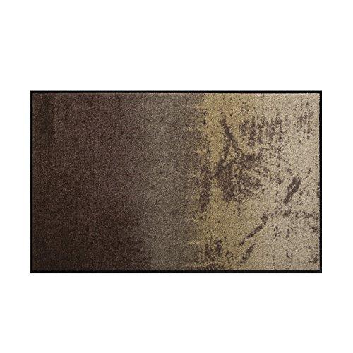 Salonloewe Fußmatte waschbar Shabby Brown 75×120 cm SLD0814-075×120