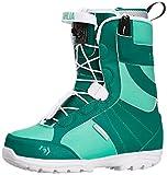 Northwave Women's Dahlia Short Leg Snowboard Boots - Green, Size 250