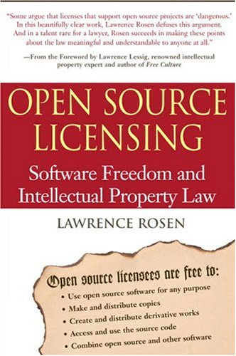 Logo for Open Source Licensing: Software Freedom and Intellectual Property Law