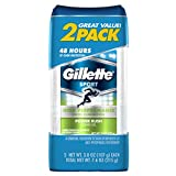 Gillette Clear Rush 2 Piece Antiperspirant and Deodorant Gel Power, 7.6 Ounce