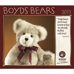 Boyds Bear 2013 Wall Calendar