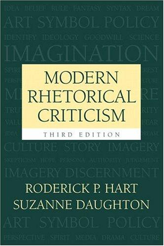 Modern Rhetorical Criticism (3rd Edition)