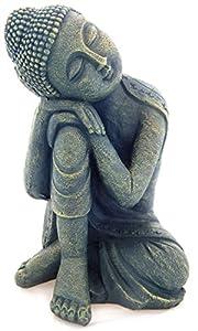 Bouddha statue 37 cm tr s grande endormi statuette tinas - Statue bouddha exterieur pour jardin ...