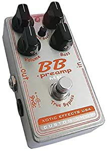 Xotic Effects Custom Shop BB Preamp Pedal