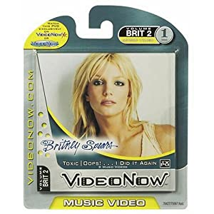 Videonow Personal Music Video Disc: Britney Spears -
