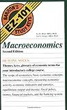 img - for Macroeconomics (Barron's EZ-101 Study Keys) book / textbook / text book