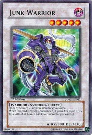 YuGiOh-5Ds-2009-Starter-Deck-Single-Card-Junk-Warrior-5DS2-EN042-Common-Toy