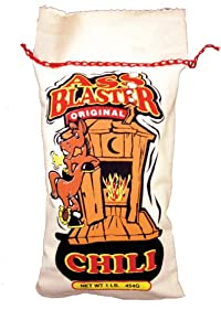 Ass Blaster Chili - These Arizona Spices Make A Bowl Of Red Chili Thats Beyond Compare Masa Flour Habanero Peppers Pinto And Black Beans Packaged Separately And Sewn Up In An Authentic Southwest Cloth Bag Makes A Great Gift by Southwest Specialty Food, In