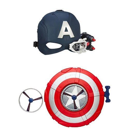 capitan-america-elmetto-elettronico-avengers-capitan-america-scudo-lancia-dischi