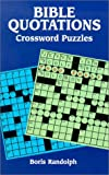img - for Bible Quotations Crossword Puzzles book / textbook / text book