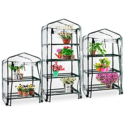 casa pura® Mini Greenhouse Casabella | Portable Grow Tent, Available in 3 Sizes