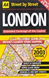 AA Street by Street: London: Extended Coverage of the Capital