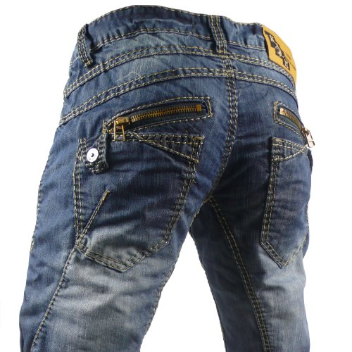 Kosmo Lupo K&M KM Apollo Mens Jeans itaian Denim brand premium luxury Designer Pants Trousers W29 / L32