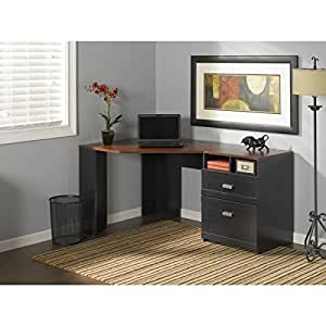 Reversible Corner Desk Unit For A Much Needed Space Saving Laptop Work Station