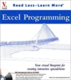 Excel Programming: Your visual blueprint  for creating interactive spreadsheets (Visual Read Less, Learn More) (076453646X) by Simon, Jinjer