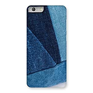 Special Denim V Print Back Case Cover for Micromax Canvas Knight 2