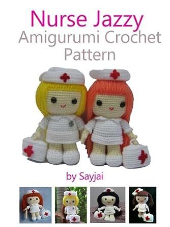 Amigurumi Magazine Subscription : Amazon.com: Nurse Jazzy Amigurumi Crochet Pattern eBook ...