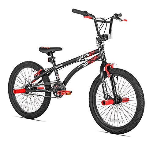 Best Buy! X-Games FS-20 BMX/Freestyle Bicycle, 20-Inch, Black Red