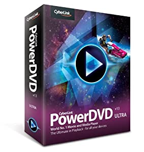 Cyberlink PowerDVD 13.0 Ultra - Software de video (1 usuario(s), 400 MB, 1024 MB, Pentium 4, Athlon 64 2800+)
