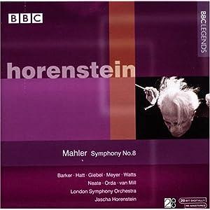 Mahler: Symphony 8, Horenstein in conversation