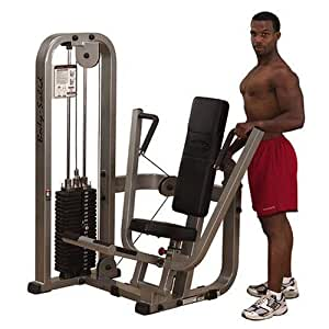 Body Solid Pro Club Line SBP100G2 Chest Press Machine with 210-Pound Weight Stack