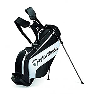 "Taylor Made Stand Bag 3.0 (Black/White, 8.5"" 4-way top) Golf"