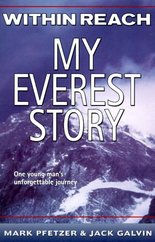 my everest story book report I've never been to nepal, but writers mark pfetzer and jack galvin made me feel as if i were up in the mountains in the book within reach my everest story, mark the main character, tells the readers about his experiences with the mountainshis goal is to reach the summit of everest.
