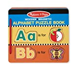 Melissa & Doug Alphabet Puzzle Book