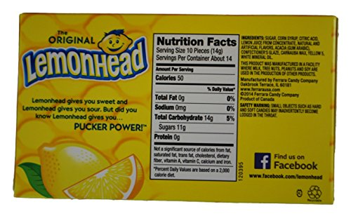 ... Lemonhead Candy, One Can Wyler's Light Lemonade Drink Mix Food