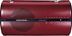 Grundig GRN0471 RP 5200- Radio Portatile (Cherry/Red)