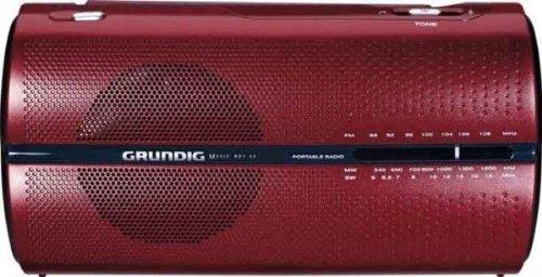 Grundig Music 50/RP 5200 Tragbares UKW/MW-Radio (5,8 bis 18,5MHz)