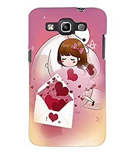 PrintDhaba Love D-2520 Back Case Cover for SAMSUNG GALAXY WIN i8552 (Multi-Coloured)