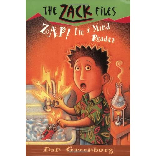 Zack-Files-04-Zap-Im-a-Mind-Reader-Greenburg-Dan-Author-Davis-Jack-E-A