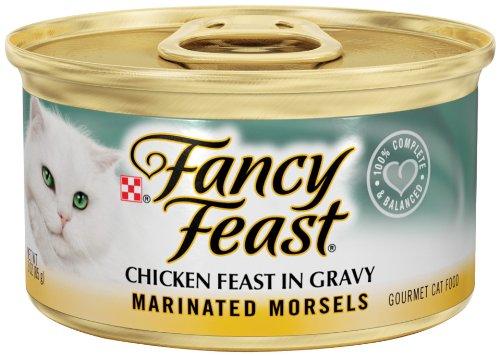 Fancy Feast Marinated Morsels Chicken Feast In Gravy