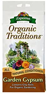 Espoma Organic Traditions Garden Gypsum - 5 lb Bag GG5 (Discontinued by Manufacturer)