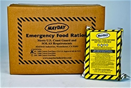 Mainstay emergency food rations case of 10 packs amazon for Mayday food bar 3600 calories