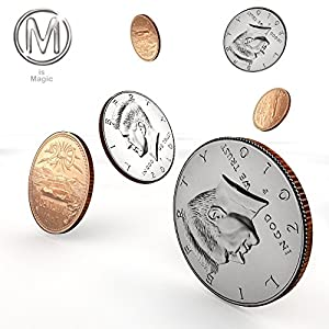 double_face_quarter_Mexican_centavo **FOR PROFESSIONAL MAGICIANS ONLY***