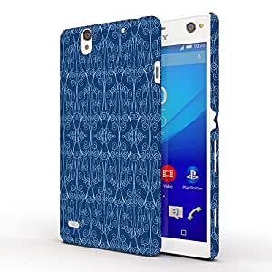 Koveru Designer Protective Back Shell Case Cover for SONY XPERIA C4 - Classic Blue