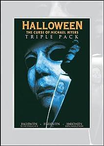 Halloween Triple Pack (Halloween - The Curse of Michael Myers | Halloween H20 | Halloween Resurrection)