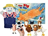 A Pig In The Pond Book With Puppets