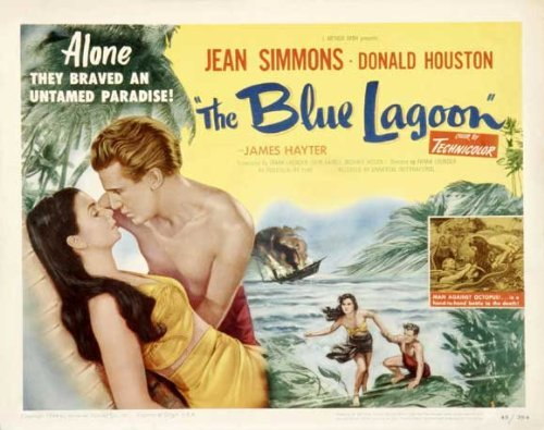 Blue Lagoon POSTER Movie (22 x 28 Inches - 56cm x 72cm) (1949) (Half Sheet Style A)