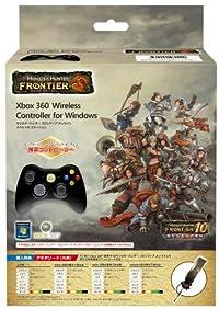 マイクロソフト ワイヤレス ゲーム コントローラー Xbox 360 Wireless Controller for Windows ブラック JR9-00009 モンスターハンター フロンティア オンライン スペシャルエディション