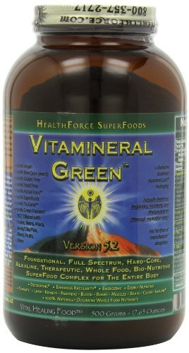 Healthforce Vitamineral Green V5.2, Powder, 500-Grams