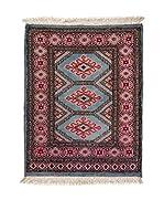 Navaei & Co. Alfombra Kashmir Rojo/Multicolor 84 x 64 cm