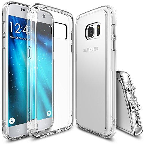 Custodia Galaxy S7, Ringke FUSION [CRYSTAL VIEW] Assorbimento urti TPU Goccia Protezione, Premio Chiaro Forte Indietro [Antistatico][Resistente Ai Graffi] per Samsung Galaxy S7 2016