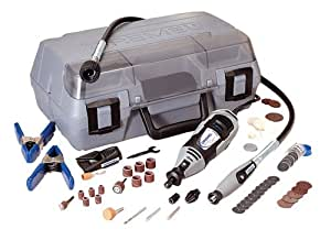 Dremel 3956-02 MultiPro Super 1.15 Amp 5,000 to 35,000 RPM Variable Speed Rotary Tool with 77 Accessories
